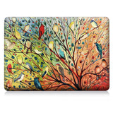 Macbook Case | Oil Painting Collection - Colourful Birds - Case Kool