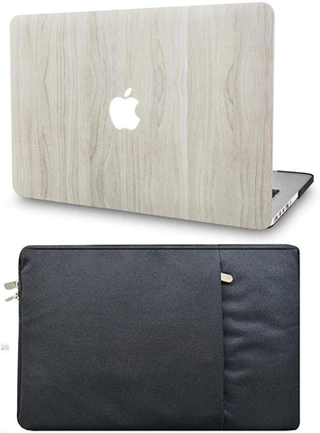 Macbook Case with Sleeve Package | Wood Collection - Pine Wood 2