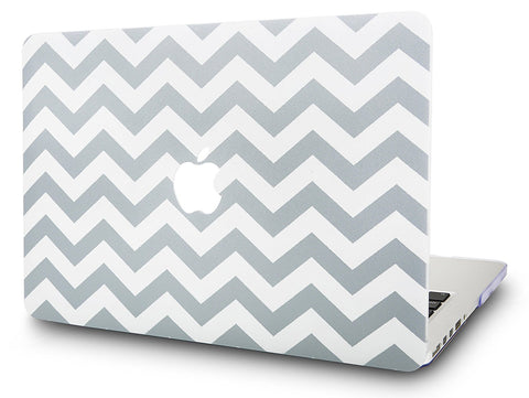 Macbook Case | Oil Painting Collection - Wave Lines - Case Kool