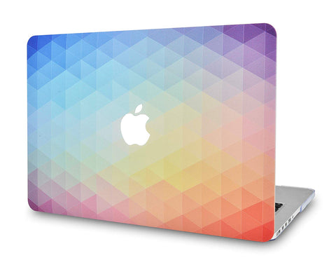 Macbook Case | Color Collection - Rainbow Ombre - Case Kool