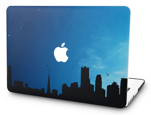 Macbook Case | Oil Painting Collection - Night City - Case Kool