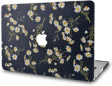Macbook Case | Oil Painting Collection - White Daisies