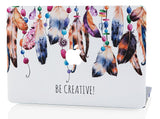 Macbook Case | Oil Painting Collection - Feather Links - Case Kool