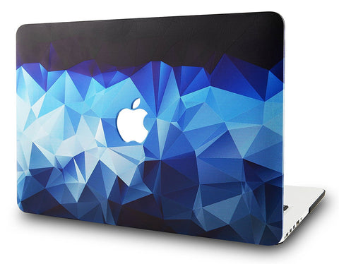Macbook Case | Color Collection - Blue Diamond - Case Kool