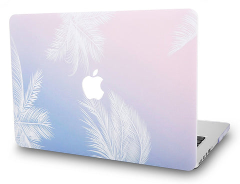 Macbook Case | Color Collection - Blue Feather - Case Kool