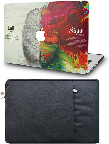 Macbook Case with Sleeve Package | Painting Collection - Brain - Case Kool