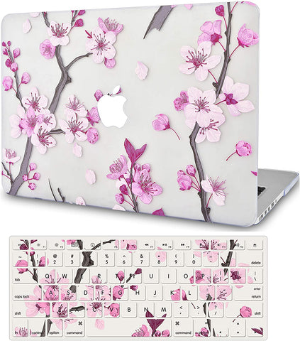 Macbook Case with Keyboard Cover Package | Flower 10