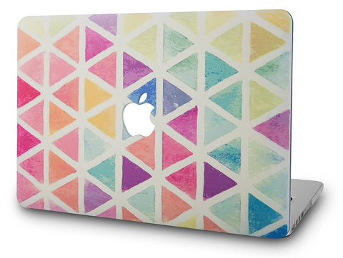 Macbook Case | Color Collection - Color Triangles - Case Kool