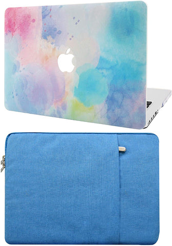 Macbook Case with Sleeve Package | Painting Collection - Rainbow Mist 2 - Case Kool