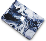 Macbook Case with Sleeve Package | Marble Collection - Black Grey Marble - Case Kool