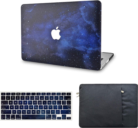 Macbook Case with Keyboard Cover and Sleeve Package | Night Sky 4