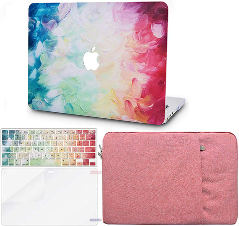 Macbook Case with Keyboard Cover, Screen Protector and Sleeve Package | Painting Collection - Fantasy - Case Kool