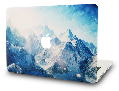 Macbook Case | Color Collection - Snow Mountain - Case Kool