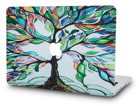 Macbook Case | Color Collection - Colorful Tree - Case Kool