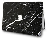 Macbook Case | Marble Collection - Black Marble 2 - Case Kool