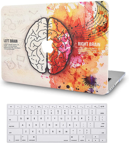 Macbook Case with Keyboard Cover Package | Brain 4