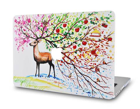 Macbook Case | Color Collection - Four Season Tree 2 - Case Kool