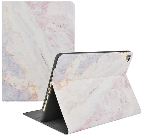 iPad Case | Marble Collection - White Marble 2 - Case Kool