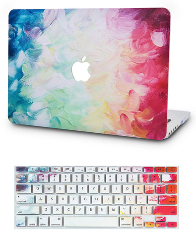 Macbook Case with US/CA Keyboard Cover' Package | Oil Painting Collection - Fantasy - Case Kool