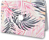 Macbook Case | Leaf - Pink Grey