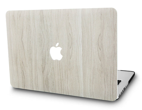 Macbook Case | Leather Collection - Pine Wood 2 - Case Kool
