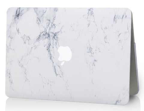 timeless design c06f7 2b365 Macbook Case | Marble Collection - White Marble