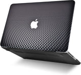 Macbook Case | Color Collection - Black Carbon Fiber