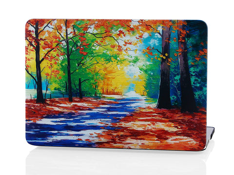 Macbook Case | Oil Painting Collection - Park - Case Kool