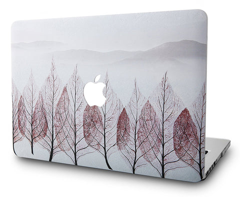 Macbook Case | Color Collection - Red Leaf - Case Kool