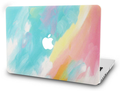 Macbook Case | Color Collection - Watercolor Paint - Case Kool