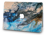 Macbook Case with Keyboard Cover Package | Oil Painting Collection - Sea - Case Kool
