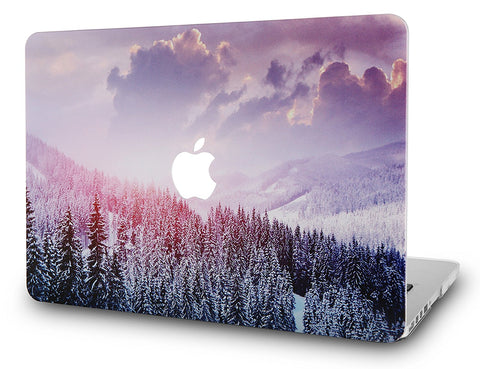 Macbook Case | Color Collection - Snow Mountain 2 - Case Kool