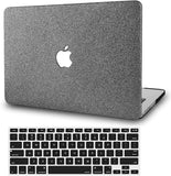 Macbook Case with Keyboard Cover Package | Grey Sparkling