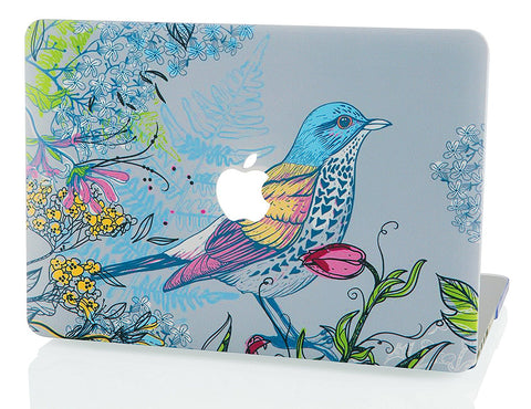Macbook Case | Oil Painting Collection - Bird - Case Kool
