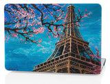 Macbook Case | Oil Painting Collection - Eiffel Tower - Case Kool