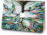 Macbook Case with Sleeve Package | Painting Collection - Colorful Tree - Case Kool