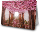 Macbook Case with Keyboard Cover Package |  Cherry Blossoms