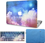 Macbook Case with Keyboard Cover and Sleeve Package | Night Sky 2