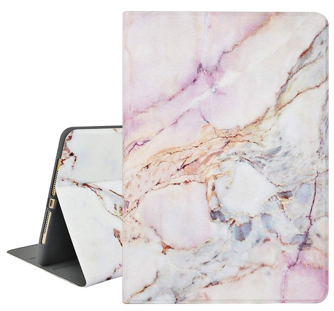 iPad Case | Marble Collection - White Marble 4 - Case Kool