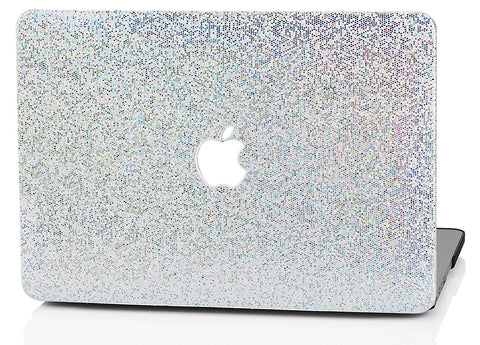 Macbook Case | Color Collection - Silver Gliter - Case Kool