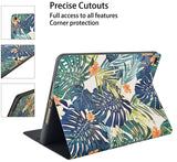 iPad Case | Flower Collection - Palm Leaves Lilies - Case Kool