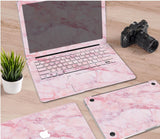Macbook Decal Skin | Paint Collection - Pink Marble - Case Kool