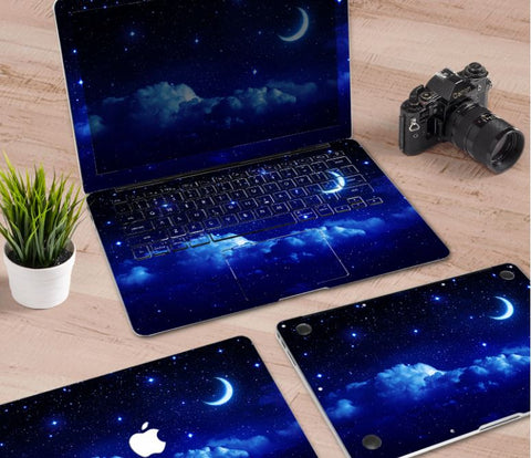 Macbook Decal Skin | Paint Collection - Night Sky