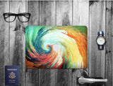 Macbook Decal Skin | Paint Collection - Spiral - Case Kool