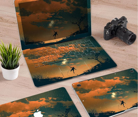 Macbook Decal Skin | Paint Collection - Kid's Dream
