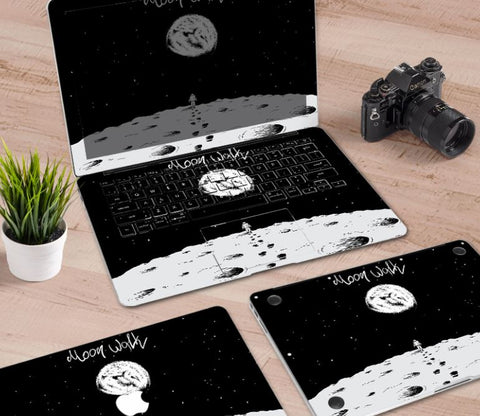 Macbook Decal Skin | Paint Collection - Astronaut - Case Kool