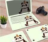 Macbook Decal Skin | Paint Collection - Cartoon Panda - Case Kool