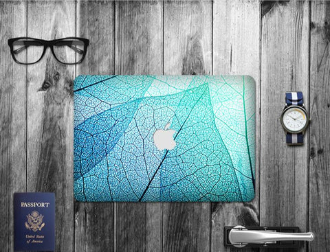 Macbook Decal Skin | Paint Collection - Leaf - Case Kool
