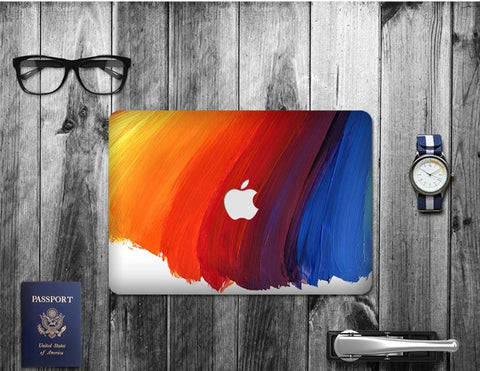 Macbook Decal Skin | Paint Collection - Rainbow