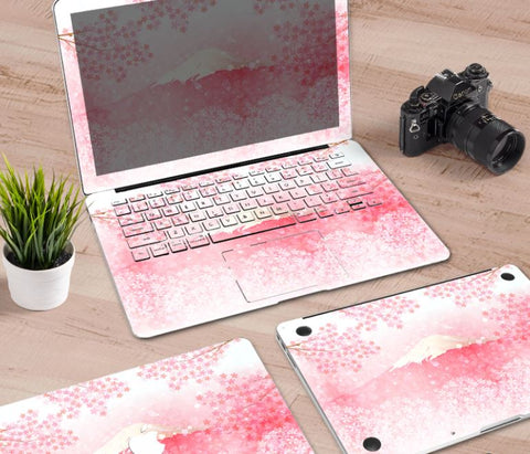 Macbook Decal Skin | Paint Collection - MT. Fuji